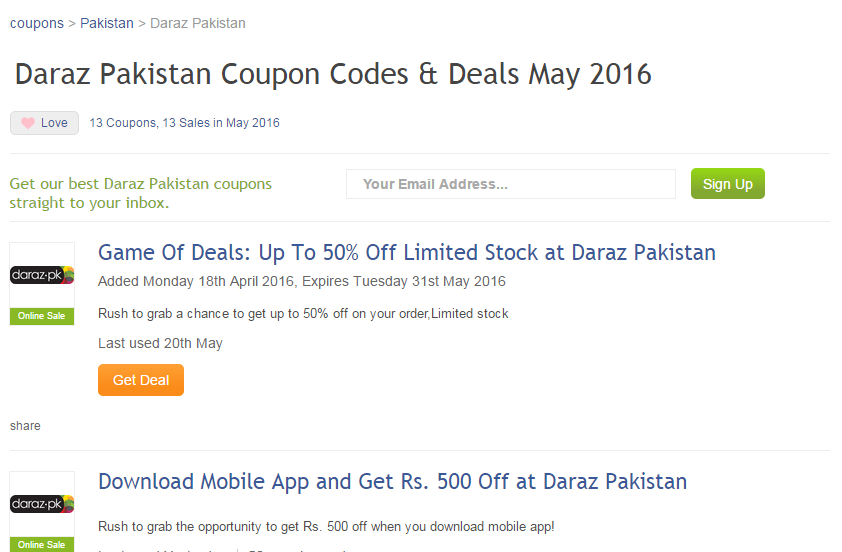 Daraz pakistan coupon codes the daraz pakistan seovouchertype upon this you would get the code or will be guided appropriately for the next step and daraz website would open in next tab copy the code with a single fandeluxe Gallery