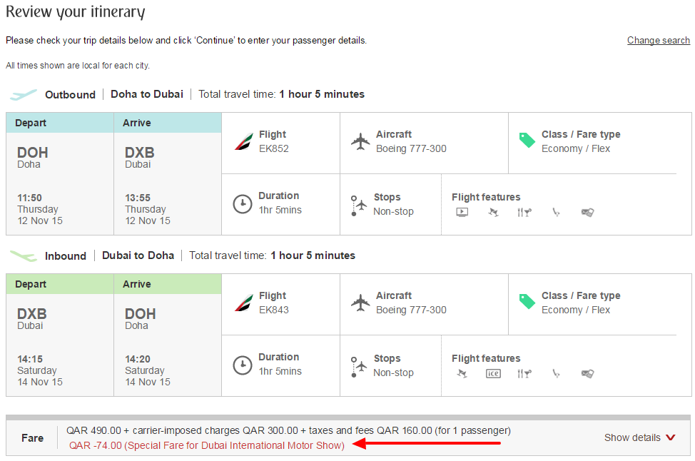 Emirates   Make a booking   Review your itinerary.png